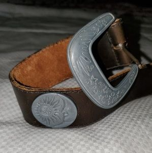 Levi's vintage stars & sun leather belt